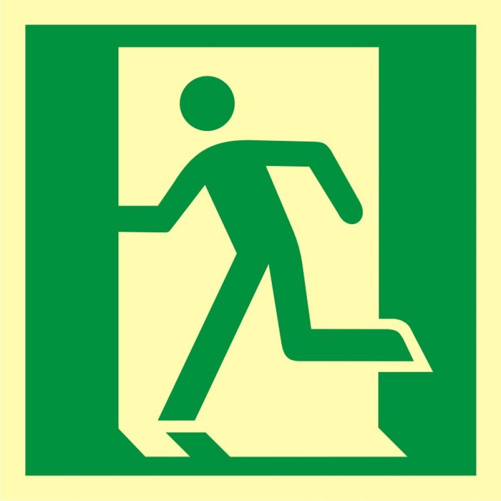 AA010 - Drzwi ewakuacyjne - znak ewakuacyjny