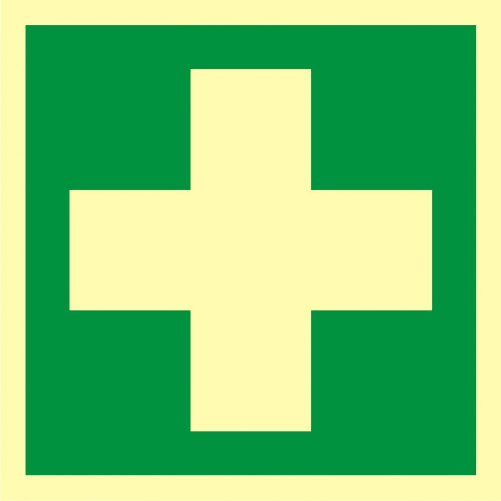 AAE003 - Pierwsza pomoc medyczna - znak ewakuacyjny