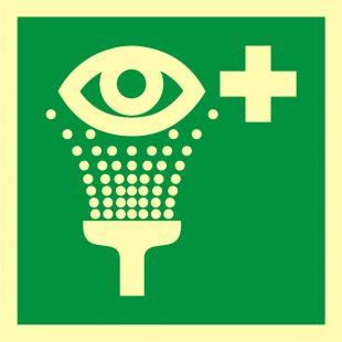 AAE011 - Prysznic do przemywania oczu - znak ewakuacyjny