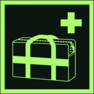 AAE027 - Medyczna torba przenośna - znak ewakuacyjny