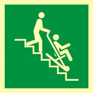 AAE060 - Krzesło ewakuacyjne - znak ewakuacyjny