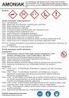 Amoniak - etykieta chemiczna, oznakowanie opakowania - LC023