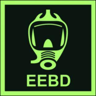 Aparat oddechowy na wypadek sytuacji awaryjnych (EEBD) - znak morski - FB030