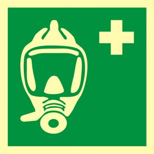 Aparat oddechowy na wypadek sytuacji awaryjnych (EEBD) - znak morski - FB069