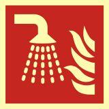 Aplikator mgły wodnej - znak przeciwpożarowy ppoż - BAF011 - Znaki ochrony przeciwpożarowej PN-EN ISO 7010