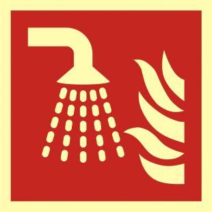 Aplikator mgły wodnej - znak przeciwpożarowy ppoż - BAF011