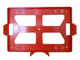 Apteczka zakładowa przemysłowa przenośna 28x21x11,5 wieszak na ścianę