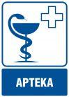 Apteka - znak informacyjny - RF004