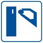 Automaty na żetony - znak informacyjny - RA046