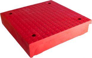 Azyl drogowy, wysepka drogowa PCV OAN - element wewnętrzny, środkowy, środek 50x50x10cm