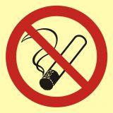 BA001 - Palenie tytoniu zabronione - znak przeciwpożarowy ppoż - Palenie tytoniu – gdzie obowiązuje zakaz, a gdzie wolno palić?