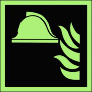 BAF004 - Zestaw sprzętu ochrony przeciwpożarowej - znak przeciwpożarowy ppoż