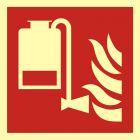 BAF010 - Przenośny aplikator piany - znak przeciwpożarowy ppoż