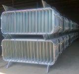 Barierka imprezowa, przeciwtłumowa, zabezpieczająca zaokrąglona - BHP na budowie – przygotowanie do robót budowlanych