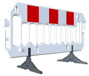 Barierka tymczasowa, zabezpieczająca U-20 PCV Revia z nóżkami