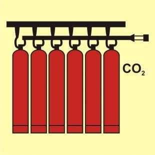 Bateria butli CO2 - znak morski - FA044