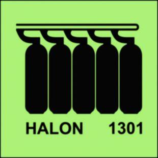 Bateria butli halonu 1301 - znak morski - FA009