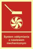 BB017 - System oddymiania z nawiewem mechanicznym - znak przeciwpożarowy ppoż - Wymagania ppoż dla garaży