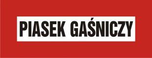 BC108 - Piasek gaśniczy - znak przeciwpożarowy ppoż