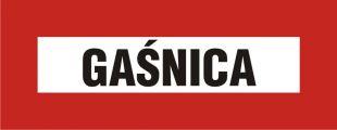 BC117 - Gaśnica - znak przeciwpożarowy ppoż