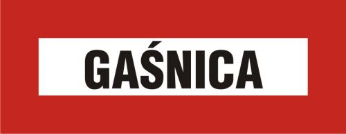 BC117 - Gaśnica - znak przeciwpożarowy ppoż - Zasady doboru gaśnic