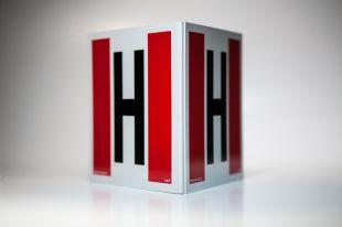 BE100 - Hydrant zewnętrzny przestrzenny 3D - mały 25 x 25 cm