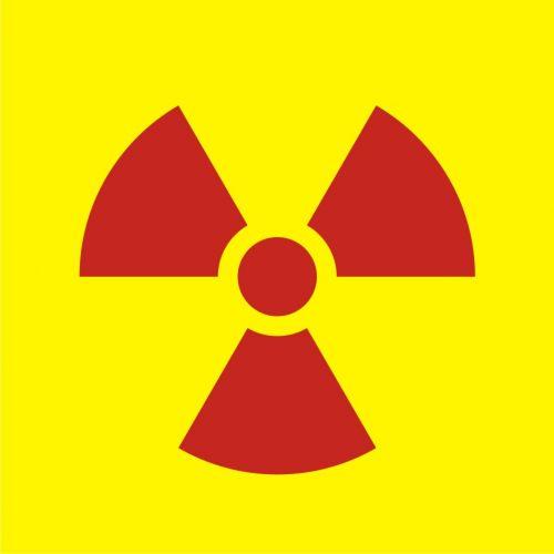 Bezpośredniego otwarte źródło promieniowania, opakowanie - znak bezpieczeństwa, ostrzegający, promieniowanie - KA001 - Promieniowanie jonizujące – bezpieczeństwo i znaki