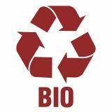 Bio 1 - znak informacyjny, segregacja śmieci - PA063 - Segregacja śmieci: kolory, zasady sortowania i oznaczenia na koszach