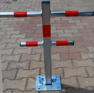Blokada parkingowa - samochodowa choinka ocynkowana 60 cm