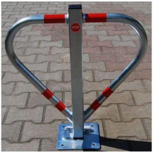 Blokada parkingowa - na kłódkę - serce triang 60cm