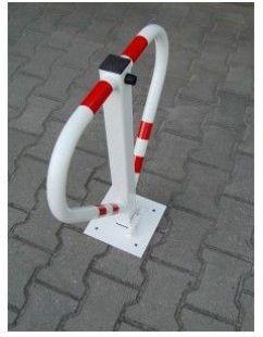 Blokada parkingowa - na kłódkę - motyl 60cm