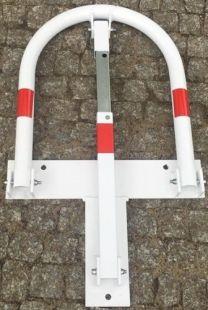 Blokada parkingowa - na kłódkę - typu SŁOŃ ciężka solidna zapora 58 cm