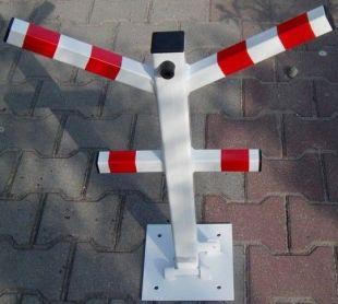 Blokada parkingowa - na kłódkę - typu Y 60cm