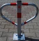 Blokada parkingowa - motyl ocynkowana na klucz 60 cm