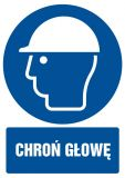 Chroń głowę - znak bhp nakazujący - GL004 - Pracodawca wykonujący zadania służby BHP – jakie powinien przejść szkolenie?