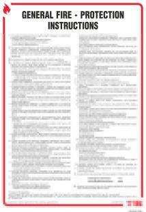 DB002 - General fire - protection instructions. Instrukcja ogólna przeciwpożarowa ( wersja angielska ) - instrukcja ppoż