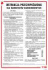 DB027 - Instrukcja przeciwpożarowa dla warsztatów samochodowych - instrukcja ppoż