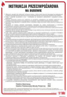 DB028 - Instrukcja przeciwpożarowa na budowie - instrukcja ppoż