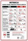 DB050 - Instrukcja gaszenia pożarów podręcznym sprzętem gaśniczym - instrukcja ppoż