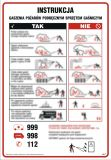DB050 - Instrukcja gaszenia pożarów podręcznym sprzętem gaśniczym - instrukcja ppoż - Stałe urządzenia gaśnicze
