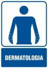 Dermatologia - znak informacyjny - RF012