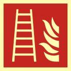 Drabina pożarowa - znak przeciwpożarowy ppoż - BAF003