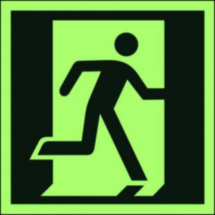 Drzwi ewakuacyjne - znak ewakuacyjny - AA009