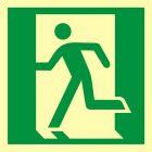 Drzwi ewakuacyjne - znak ewakuacyjny - AA010