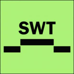 Drzwi przeciwpożarowe półwodoszczelne przesuwne - kategoria A - znak morski - FI018