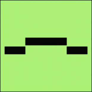 Drzwi przeciwpożarowe przesuwne - kategoria A - znak morski - FI016