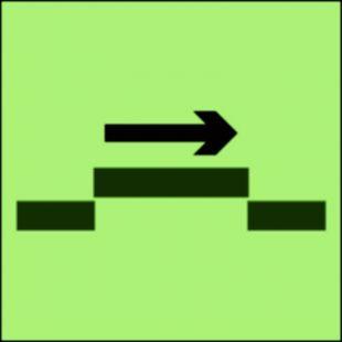 Drzwi przeciwpożarowe przesuwne samozamykające się - kategoria B - znak morski - FI025