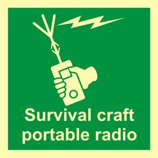 Dwukierunkowy aparat radiotelefoniczny (VHF) - znak morski - FB017