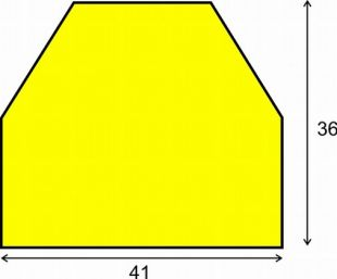 Elastyczny profil ochronny czarno - żółty typu CC