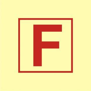 FA027 - Posterunek pożarowy - znak morski